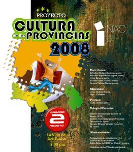 Cultura en las provincias